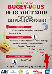 Festival bugey vous th